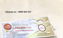 In voucher giá rẻ tại Hà Nội.