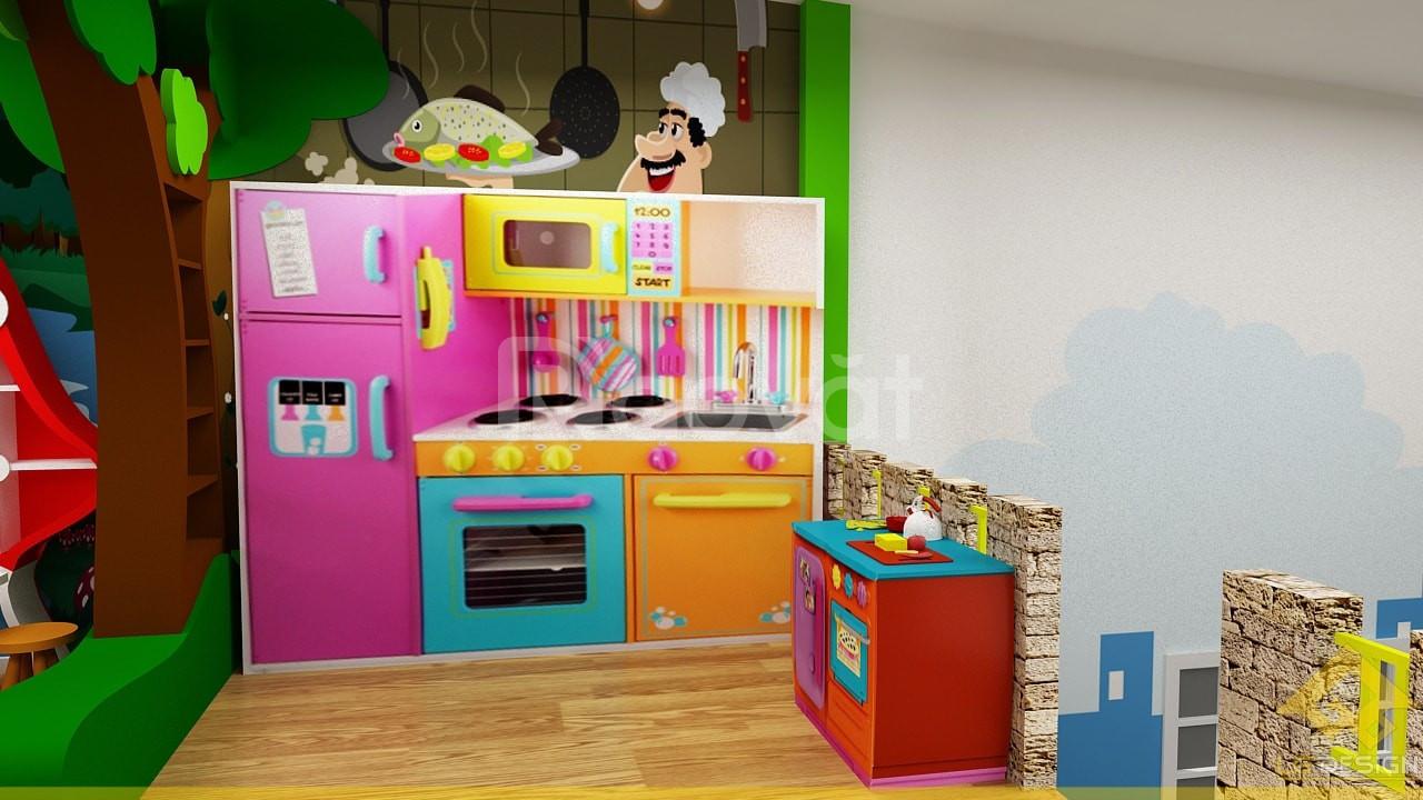 Goadesign tư vấn thiết kế thi công khu vui chơi trẻ em trọn gói