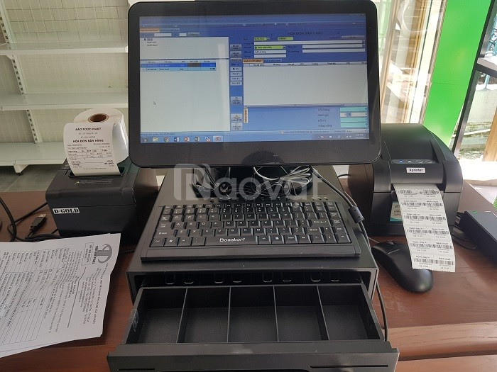 Lắp đặt máy tính tiền chuyên nghiệp cho nhà hàng tại TP HCM