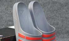Adidas Duramo màu xám sọc đỏ
