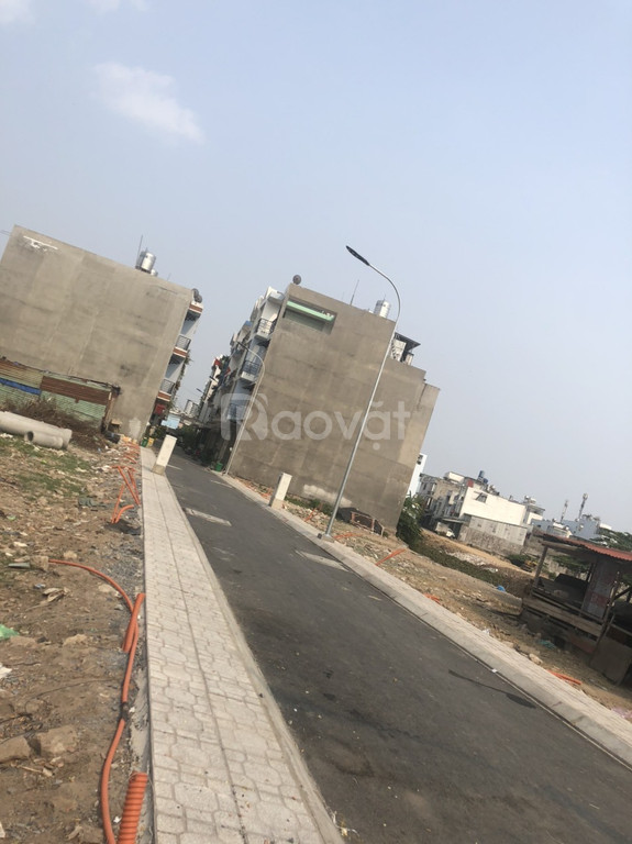 Đất thổ cư phường Bình Hưng Hòa, quận Bình Tân, 54m2, có sổ, 3,15 tỷ