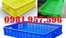Sọt nhựa công nghiệp 1T, sóng nhựa 1T trong siêu thị (ảnh 4)