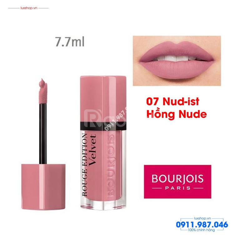 Velvet #07 Nude-ist Hồng Nude Bourjois Rouge Edition (Pháp)