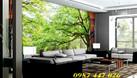 Tranh gạch men phong cảnh phòng khách HP774P (ảnh 5)