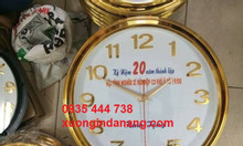 Sản xuất đồng hồ in logo, địa chỉ, slogan công ty ở Quảng Ngãi