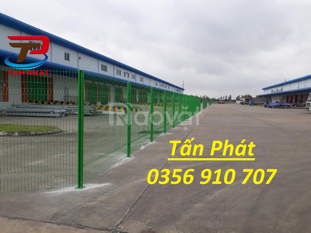 Hàng rào lưới thép, hàng rào mạ kẽm, hàng rào bảo vệ dây 5ly, 4ly (ảnh 5)