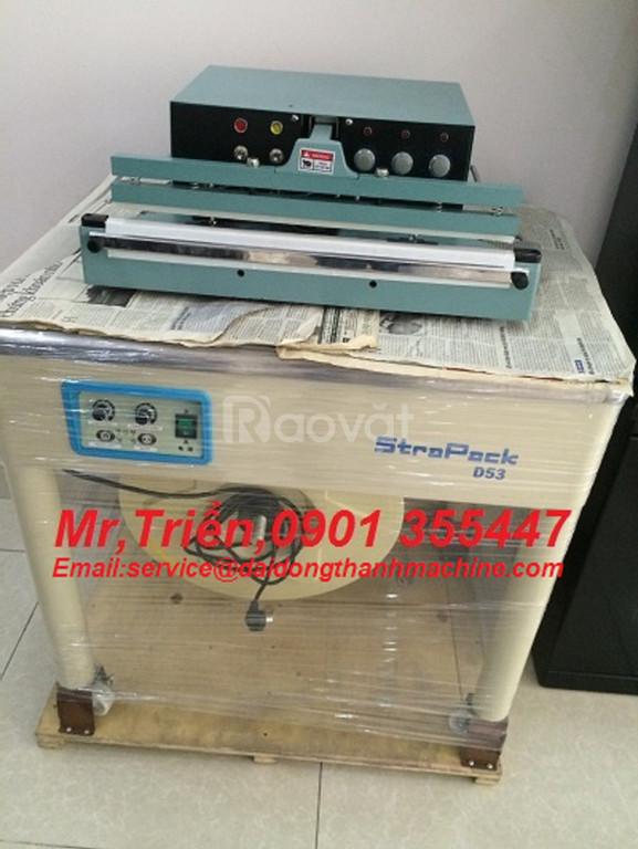 Máy đai niềng thùng chính hãng Wellpack EX-103 xuất sứ đài loan giá rẻ (ảnh 8)