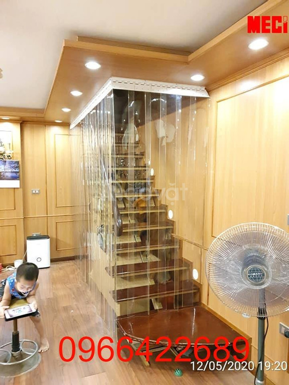 Rèm ngăn nhựa ngăn lạnh PVC, chống côn trùng , chống tia lửa hàn