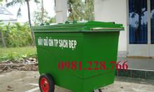 Thùng rác công nghiệp 660L và những điều cần biết