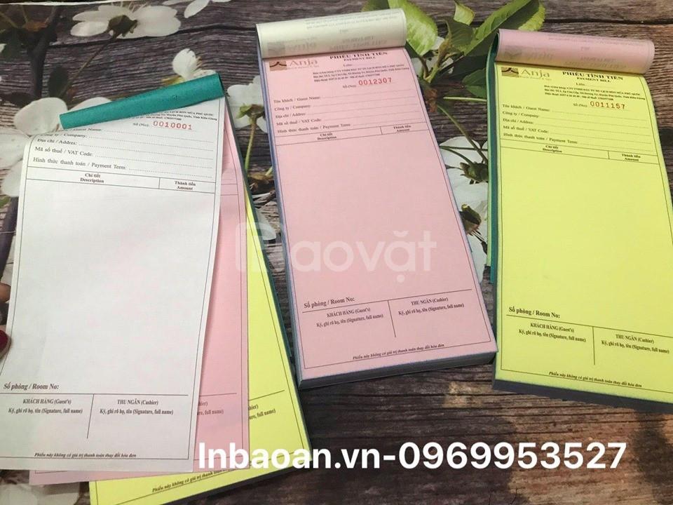 In quyển hóa đơn bán hàng, quyển order giá rẻ tại Hà Nội