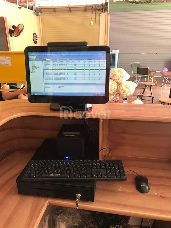 Bộ máy tính tiền chuyên nghiệp giá rẻ cho quán Café tại Cần Thơ