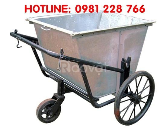 Địa chỉ bán xe tôn gom rác giá rẻ tại Hà Nội