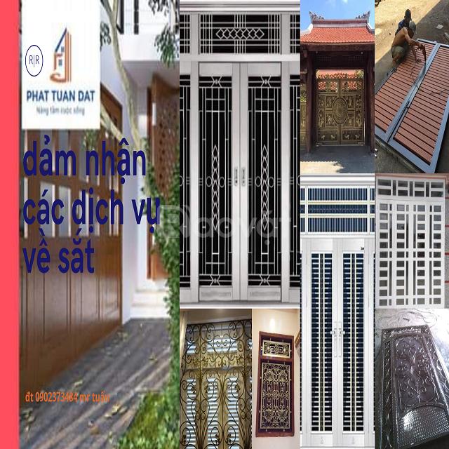 Cửa sắt giá rẻ Phát Tuấn Đạt tại TP HCM