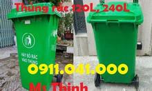 Tìm đại lý phân phối thùng rác 120L, 240L lh ngay