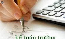 Nhận dạy kèm kế toán thực tế tại nhà học viên