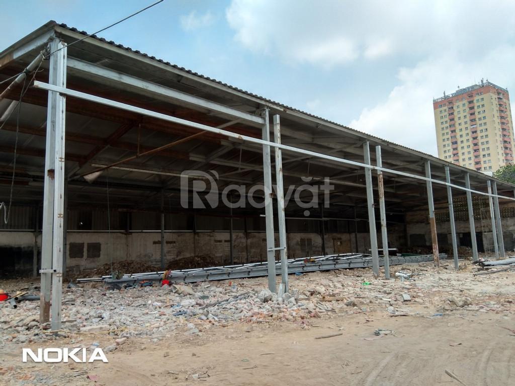 Mặt bằng kho xưởng văn phòng tại Ba La-Quang Trung