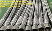 Khớp nối mềm 90, khớp nối mềm inox dn100, ống mềm inox 304