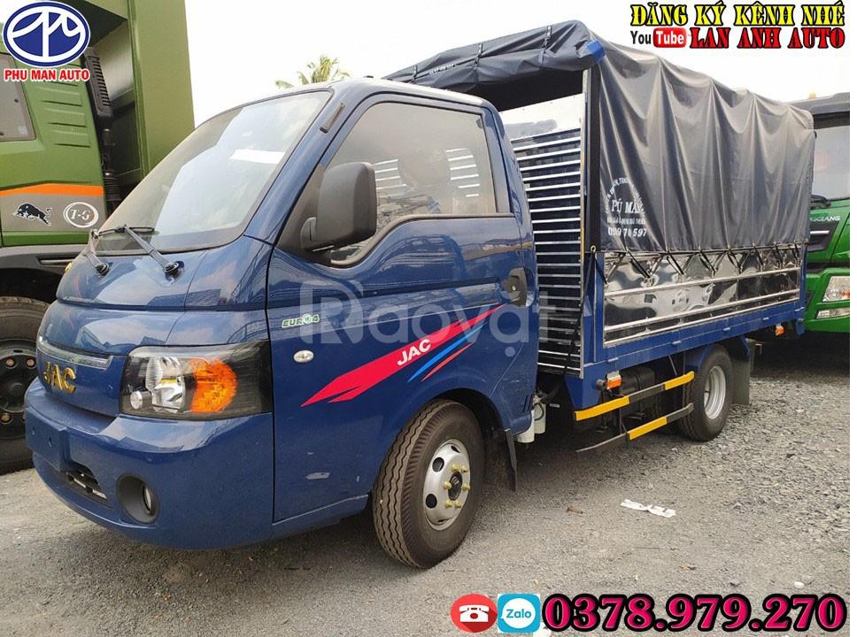 Xe tải JAC 1 tấn 5 + xe tải 1.5 tấn - đại lý xe tải Jac giá rẻ
