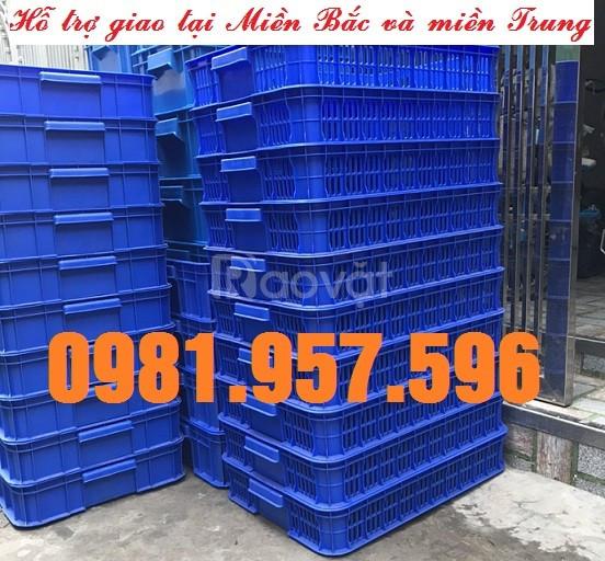 Sọt nhựa công nghiệp 1T, sóng nhựa 1T trong siêu thị (ảnh 6)