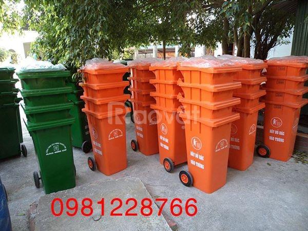 Thông tin kích thước thùng rác nhựa 120l