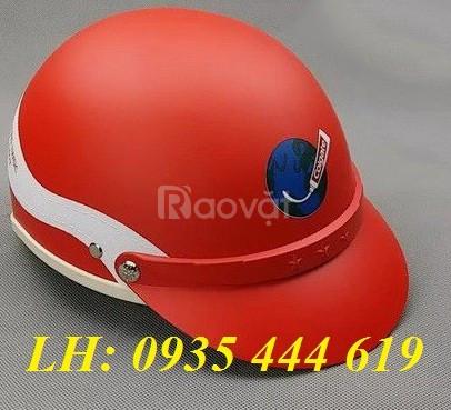 Mũ bảo hiểm in logo làm quà tặng khách hàng tại Huế