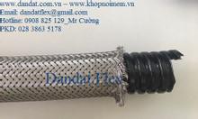 Ống nối mềm sprinkler, ống ruột gà lõi thép bọc inox 304, ống mềm inox