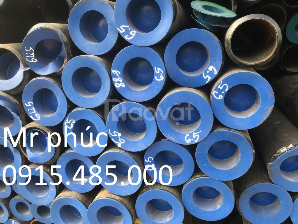#1/ Thép ống đúc phi 90 x 5ly, phi 140 x 6,5ly, phi 168 DN200