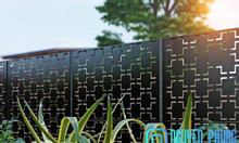 Hàng rào CNC đẹp cho nhà phố 2020
