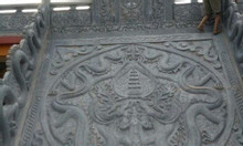 Những mẫu chiếu đá chiếu rồng đá nhà thờ họ bằng đá khối giá rẻ