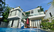 Thiết kế thi công biệt thự nghỉ dưỡng 300m2 có bể bơi và phòng hát