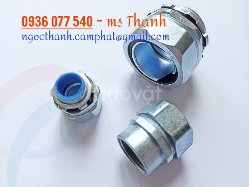 Phân phối đầu nối ống ruột gà với ống thép có ren, conduit connector