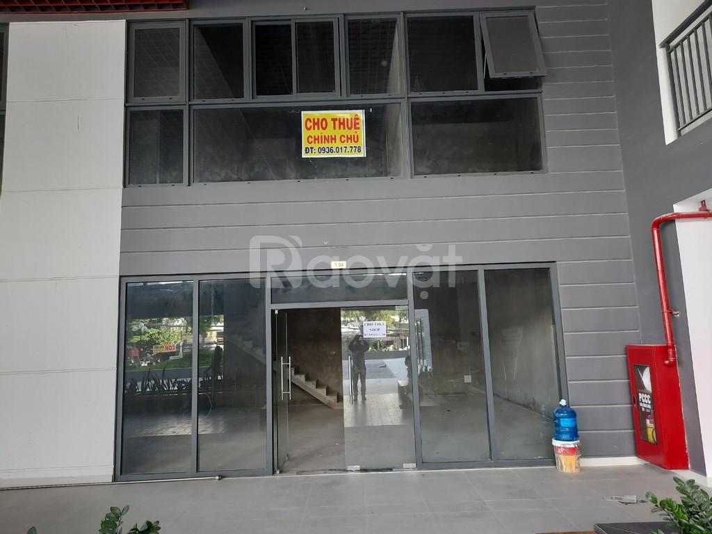 Cho thuê căn D1.04 MT ngay cạnh lễ tân, hướng ra ngoài MT Lê Văn Lương