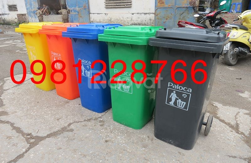Thùng nhựa đựng rác nhập khẩu chính hãng