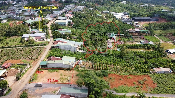Đất đẹp P.Lộc Sơn, ngay trung tâm TP Bảo Lộc, đã có sẵn thổ cư