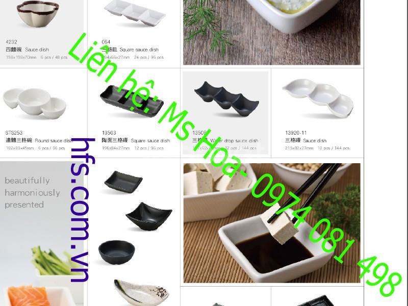 Bát đĩa melamine cao cấp, bát đĩa Nhật Bản - Hàn Quốc (ảnh 4)