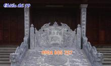 Thiết kế lắp đặt chiếu rồng đá nhà thờ đình chùa bằng đá đẹp
