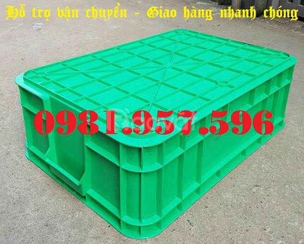 Thùng nhựa B1, hộp nhựa B1, hộp nhựa công nghiệp (ảnh 6)