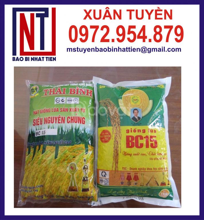 Túi đựng lúa giống 1kg