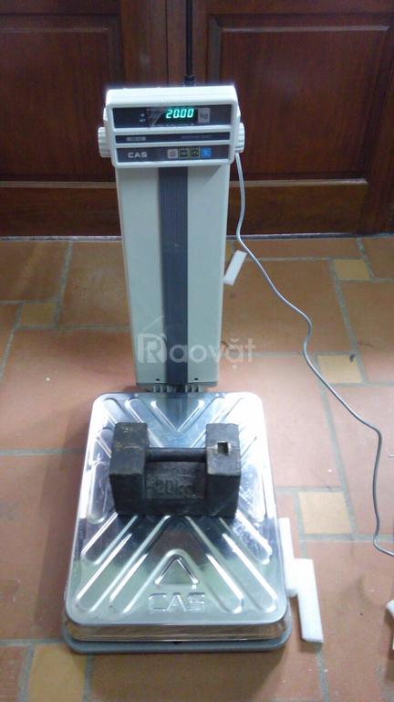 Cân  bàn điện tử DB-1H Cas, mức cân 60kg,150kg, cân an thịnh. (ảnh 1)