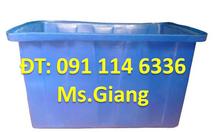 Sản xuất thùng nhựa lớn 1000l chữ nhật