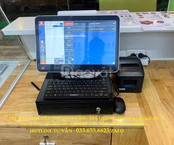 Lắp máy tính tiền cho quán ăn, nhà hàng tại Phan Thiết