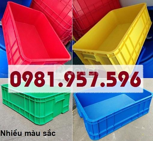 Thùng nhựa B1, hộp nhựa B1, hộp nhựa công nghiệp (ảnh 4)