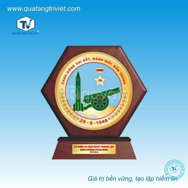 Chuyên sản xuất kỷ niệm chương, biểu trưng pha lê thủy tinh, gỗ đồng