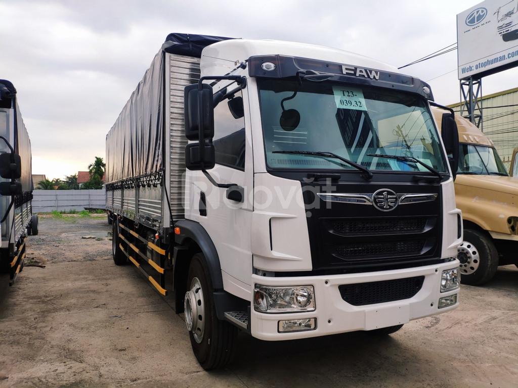 Báo giá xe tải faw 8 tấn mới nhất, tải 8 tấn thùng dài 8 mét.