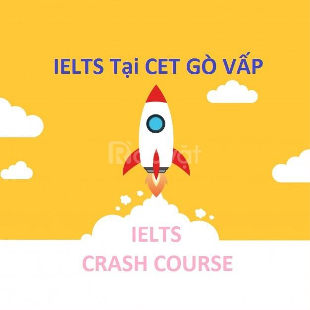 IELTS Crash Course Band 3.5 - 6.5+ trong 14 tuần