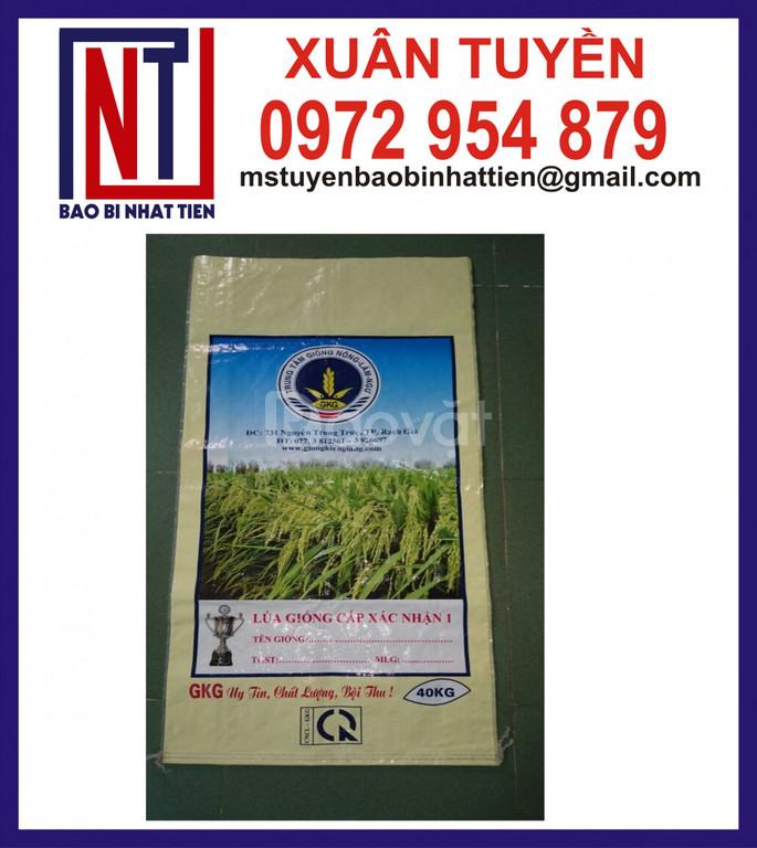 Bao đựng lúa giống ghép màng giá cạnh tranh