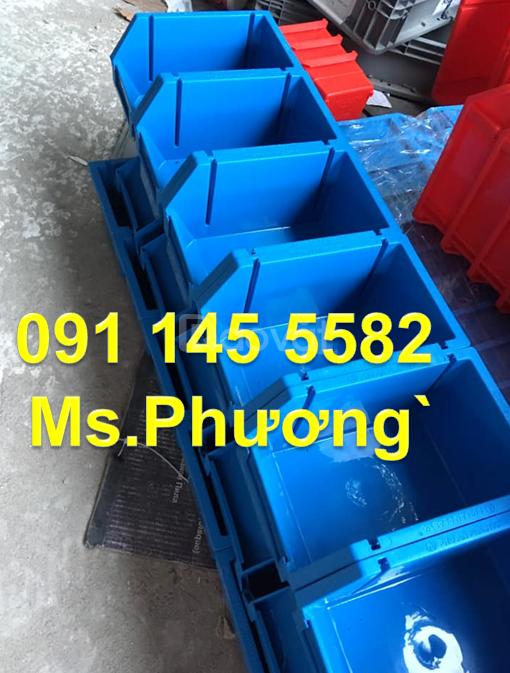 Khay A6 chứa linh kiện ốc vít, bán khay nhựa A5 đa năng xếp tầng
