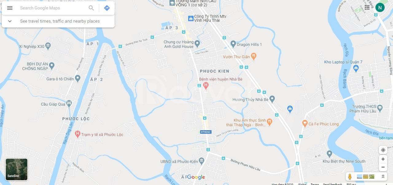Bán nhà HXH Lê Văn Lương, Phước Kiến, Nhà Bè, sẵn 5 phòng trọ, giá tốt