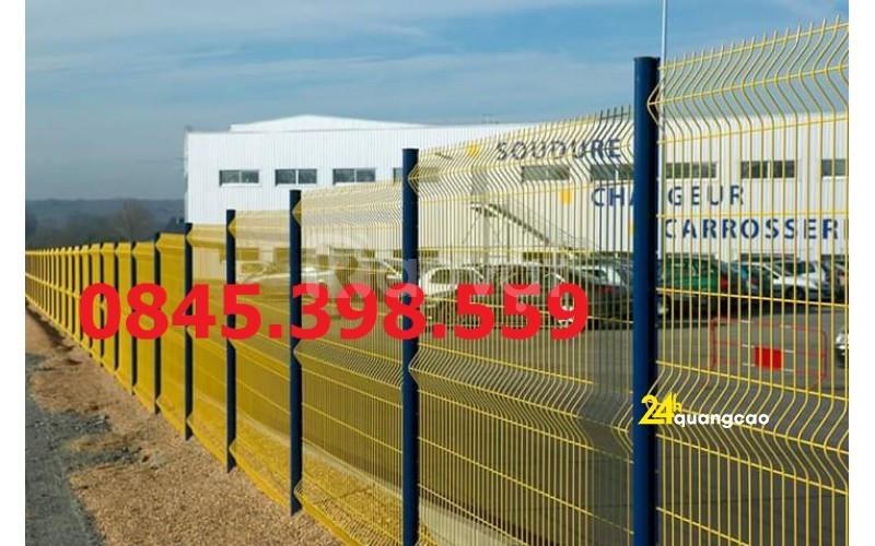 Lưới hàng rào sơn tĩnh điện, lưới hàng rào mạ kẽm,lưới thep