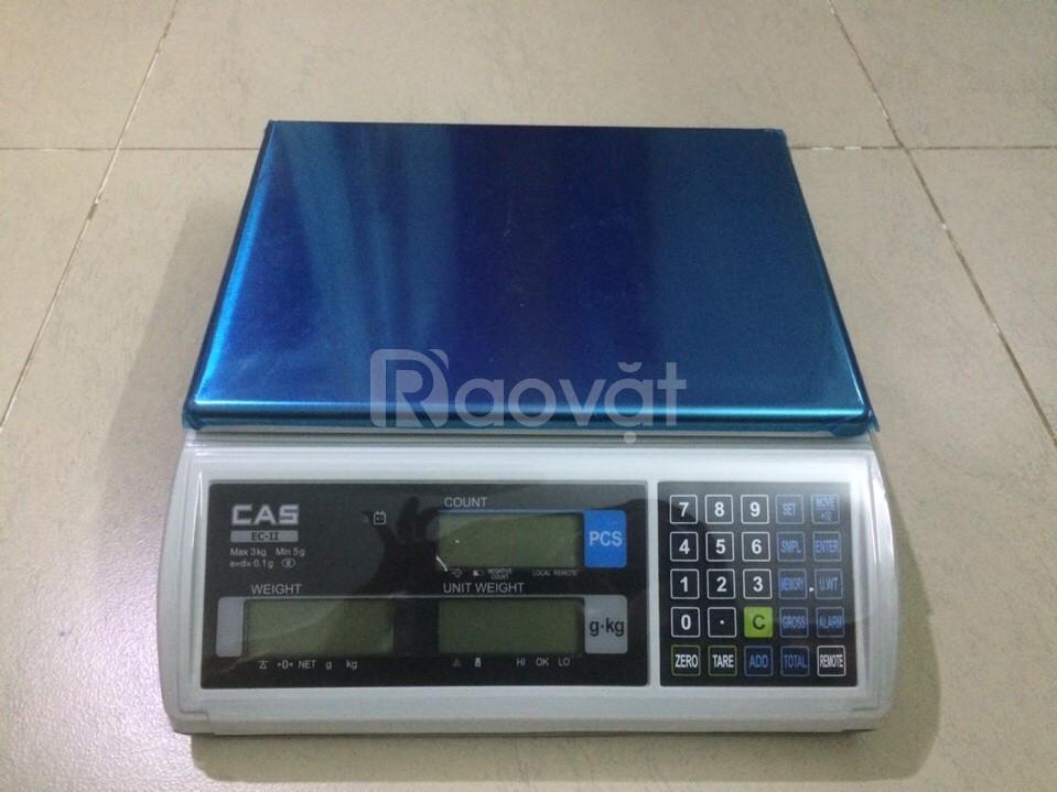 Cân đếm điện tử EC-II Cas, cân đếm số cái, cân trọng lượng đếm. (ảnh 1)